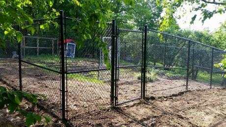 Clôture à mailles de chaîne (clôture frost)